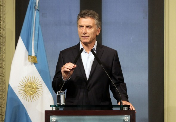 Macri, en conferencia de prensa:
