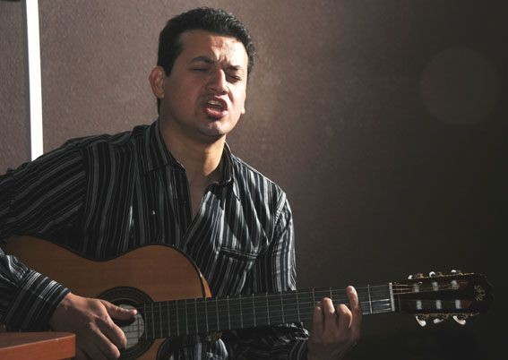 Este sábado música en el Camping, con Emilio Morales