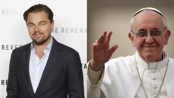 El Papa recibió a Leonardo DiCaprio