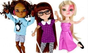 Mira las nuevas muñecas con capacidades diferentes