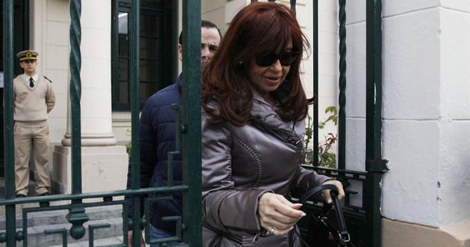 Cristina ratificó su denuncia por escuchas ilegales