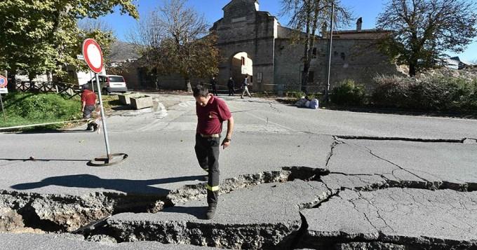 Italia tembló tres veces en menos de una hora