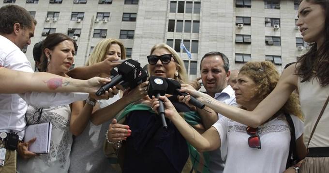 Carrió ratificó denuncia contra Arribas y lo imputaron