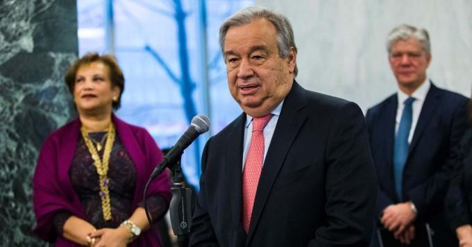 La ONU tiene nuevo Secretario General