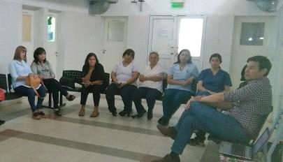 Capacitación del personal de los Centros de Atención Primaria de Salud (CAPS) de la Capital