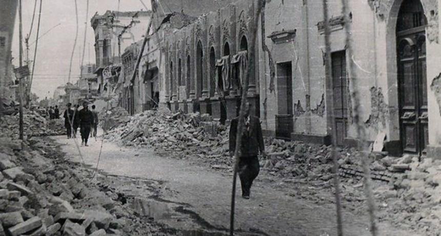 Se cumplen 75 años del sismo que prácticamente borró la Ciudad de San Juan