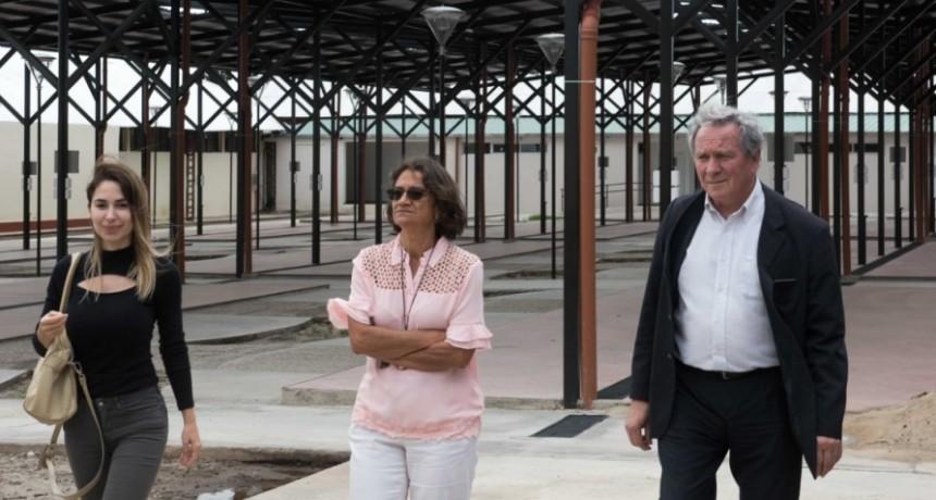 Corpacci recorrió y supervisó obras del predio de la ex-cárcel