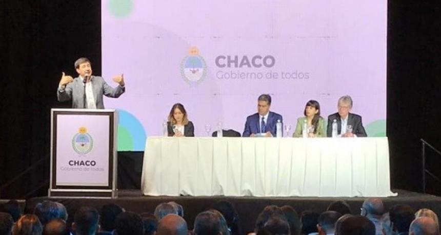 Arroyo y Capitanich presentaron el Plan Argentina Contra el Hambre