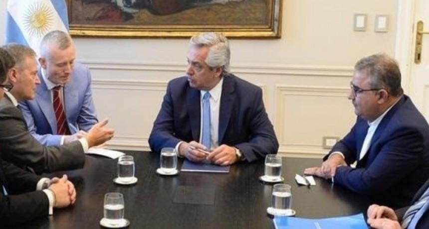 El Pt. Fernandez se reunió con R. Jalil