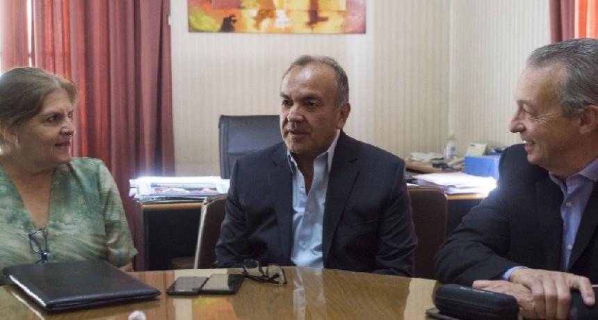 El ministro Moreno recibió a legisladores de Juntos por el Cambio