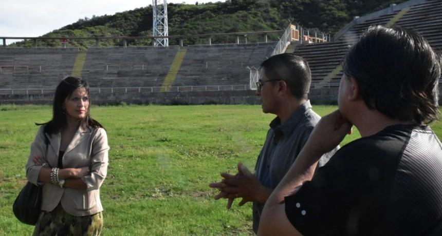 Comenzaron los trabajos en el Estadio Bicentenario