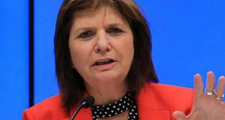 Bullrich adjudica al gobierno intromisión para investigar pericia de Gendarmería