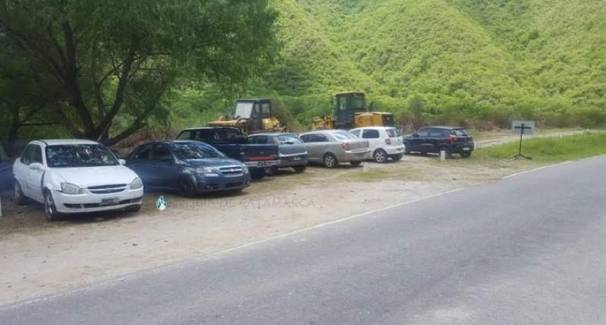 Secuestran vehículos por alcoholemia positiva en El Rodeo