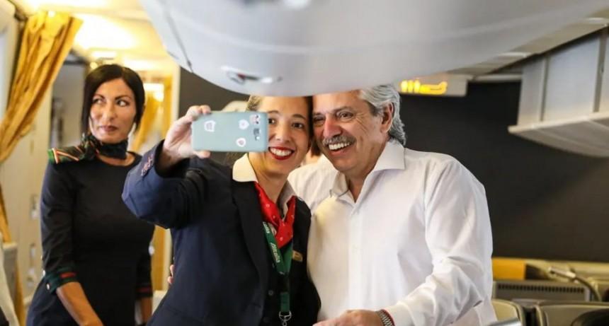 Alberto Fernández llega a Israel y se verá con líderes mundiales