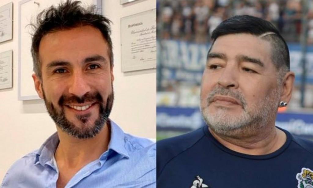 La justicia comprobó que el médico Luque falsificó la firma de Diego Maradona