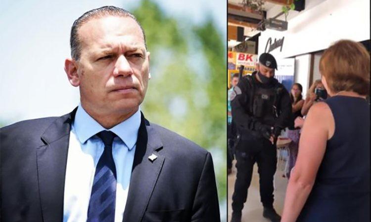 Sergio Berni investigará a los policías que le hicieron la venia a Patricia Bullrich