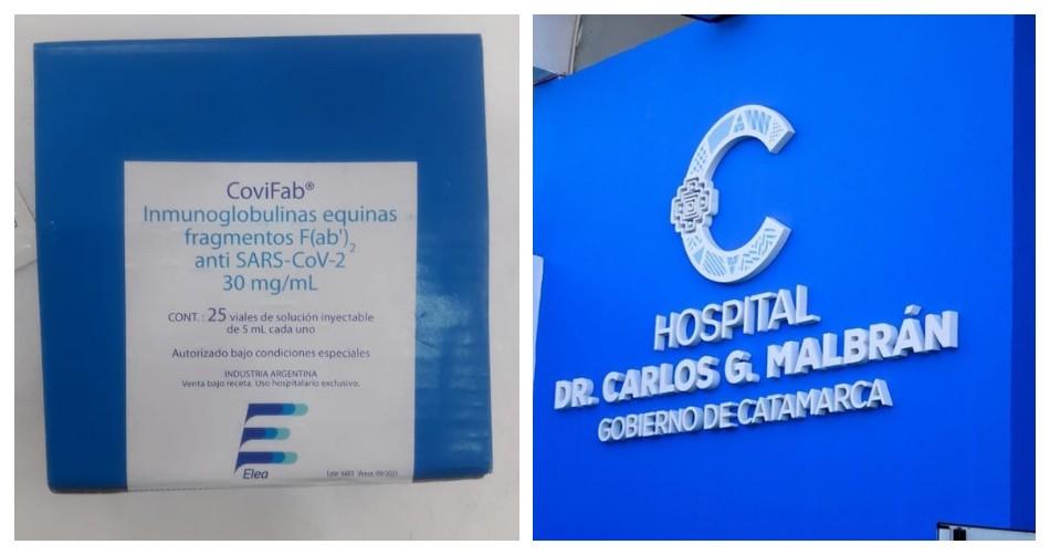 Una paciente, de 69 años, fue la primera en recibir tratamiento con suero equino en Catamarca