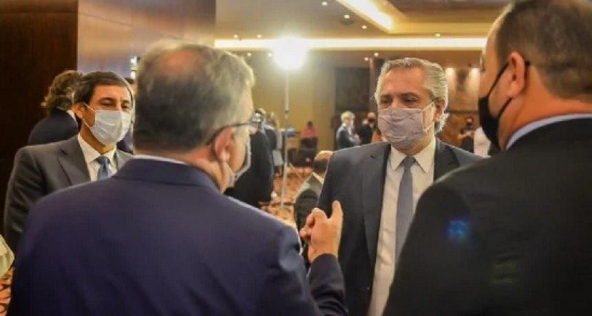 Raúl Jalil y los gobernadores del Norte Grande se reúnen con Alberto Fernández