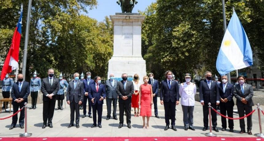 Jalil y gobernadores fueron recibidos por el ministro del Interior de Chile