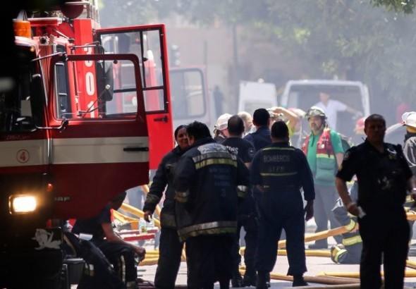 Patricia Bullrich descartó que hubiera intencionalidad en el incendio en Canal 13