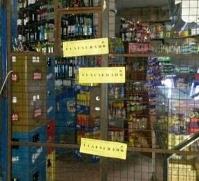 Clausuraron tres comercios por venta de bebidas alcohólicas