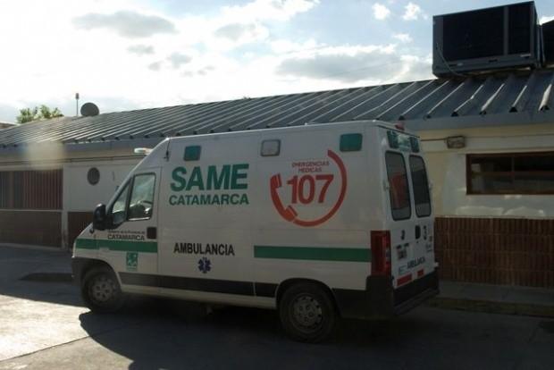 Grave accidente en Santa María