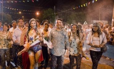 La Carrera colmada en la última noche de Fray de Carnavales