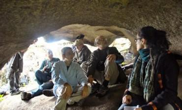 Estudian componentes de pinturas rupestres