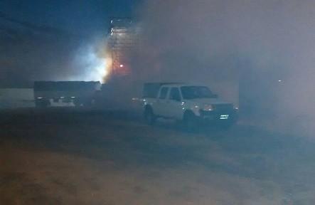Brigada de la Dirección de Vectores fumigaron en Santa María