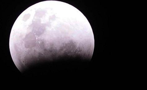 Esta noche la luna se verá oscurecida por un eclipse