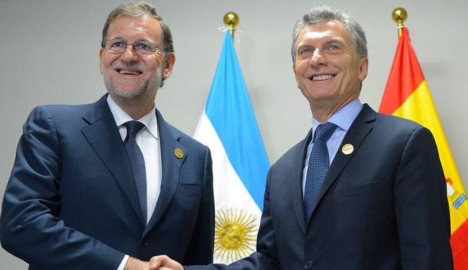 Macri arranca su gira de tres días por España