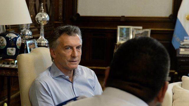 Macri recibió a Chocobar y le reconoció su