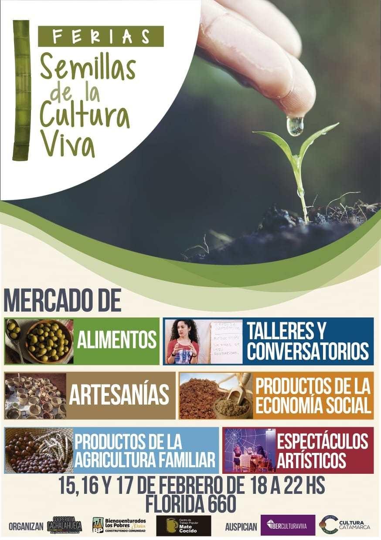 """La 1° Feria """"Semillas de la Cultura Viva"""" se lanza en Catamarca"""