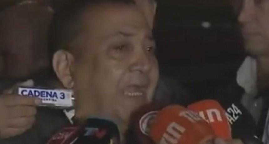 Luis D´Elía se entregó en Comodoro Py y aseguró: