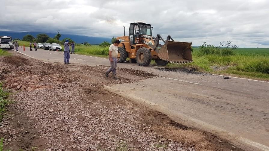 Se solucionaron los inconvenientes ocasionados en rutas nacionales por las lluvias en Catamarca