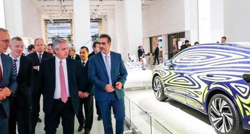 Fernández visitó Volkswagen  la empresa ratificó inversiones por 800 millones de dólares