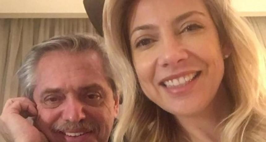 La foto con la que Fabiola Yáñez celebró junto a Alberto Fernández en el Día de los Enamorados