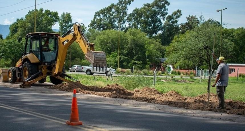 Comenzó la revalorización del acceso a la Ciudad Capital por Ruta Provincial 33