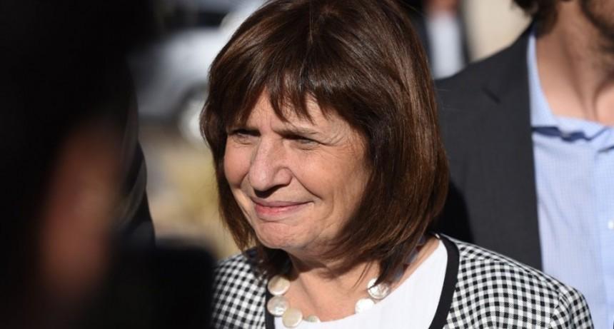 Patricia Bullrich sobre los jueces juro por Dios y por la Patria que no voy a intervenir en esta causa