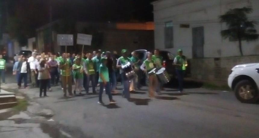 Marcharon en Pomán pidiendo aumento salarial y en repudio por los trabajadores despedidos