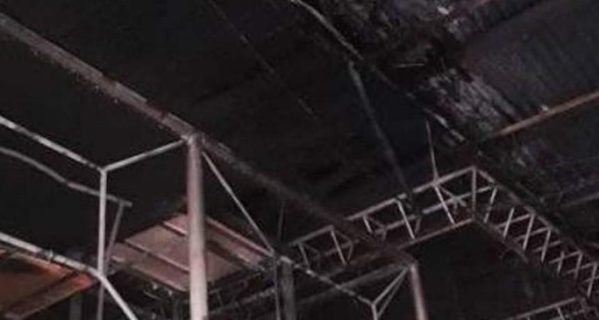 Boliche de Chumbicha terminó envuelto en llamas