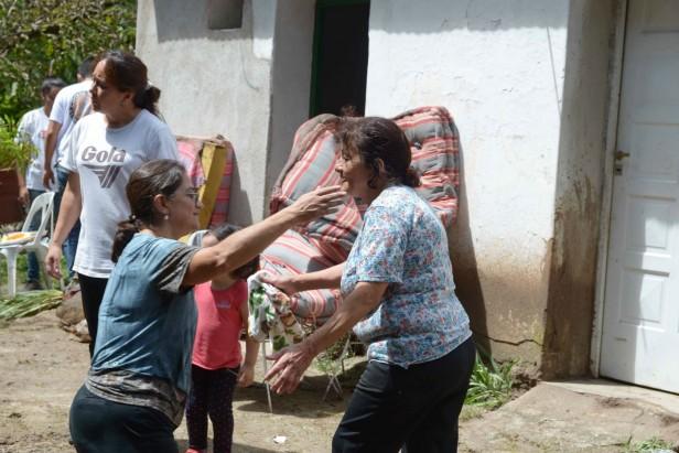 Lucía en Aconquija