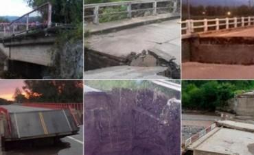Diez Puentes Colapsados en Tucumán