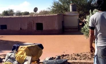 Amplio operativo de asistencia en Fiambalá por las inundaciones