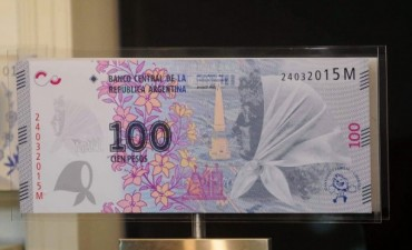 Lanzan un nuevo billete de $100 en homenaje a las Abuelas y Madres de Plaza de Mayo