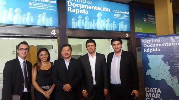 Centro de Documentación en la terminal de Catamarca