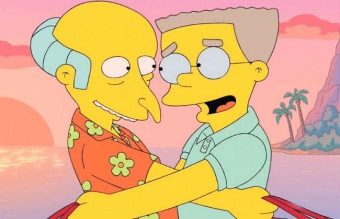 Cómo será el capítulo de Los Simpson en el que Smithers confiesa que es gay