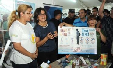 Lucía en el cierre de la Expo Mujer 2016