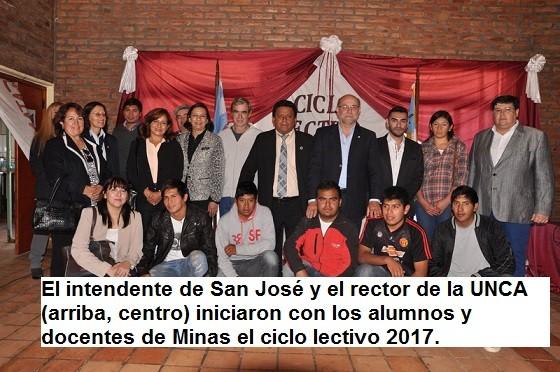 En Santa María, iniciaron el ciclo lectivo 2017 Las Carreras de Enfermería y Minas