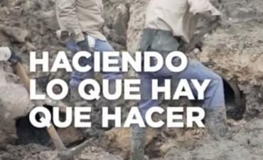 El Gobierno lanzó spots políticos en el partido de Argentina y Chile